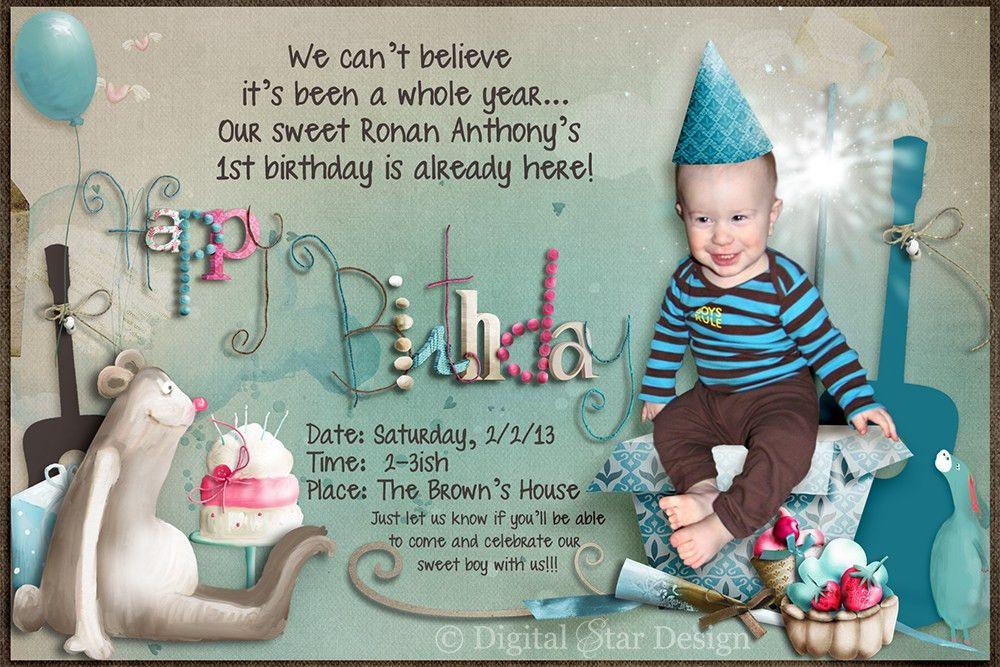 Design Birthday Invitations – gangcraft.net