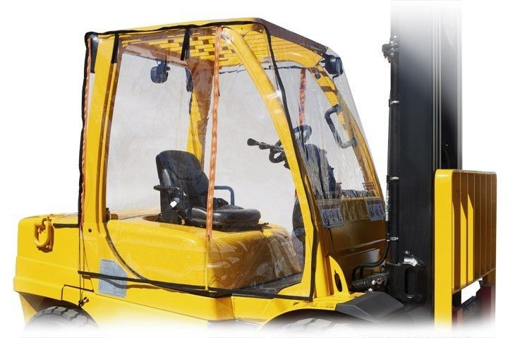 Forklift Covers and Operator Rain Guards