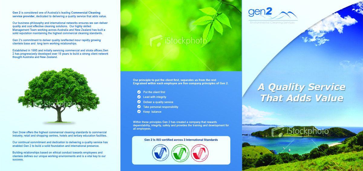 Modern, Professional Brochure Design for Danny Fildissis by ...