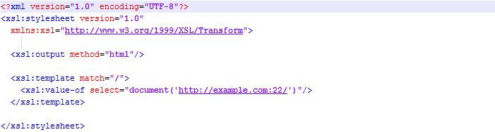 XSLT Security and Server Side Request Forgery – Compass Security Blog