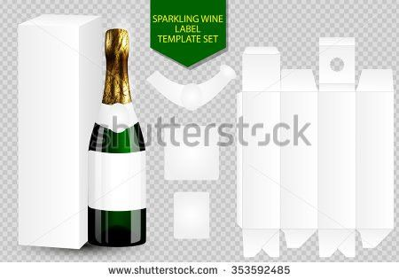 Wine Box Template - Download Free Vector Art, Stock Graphics & Images