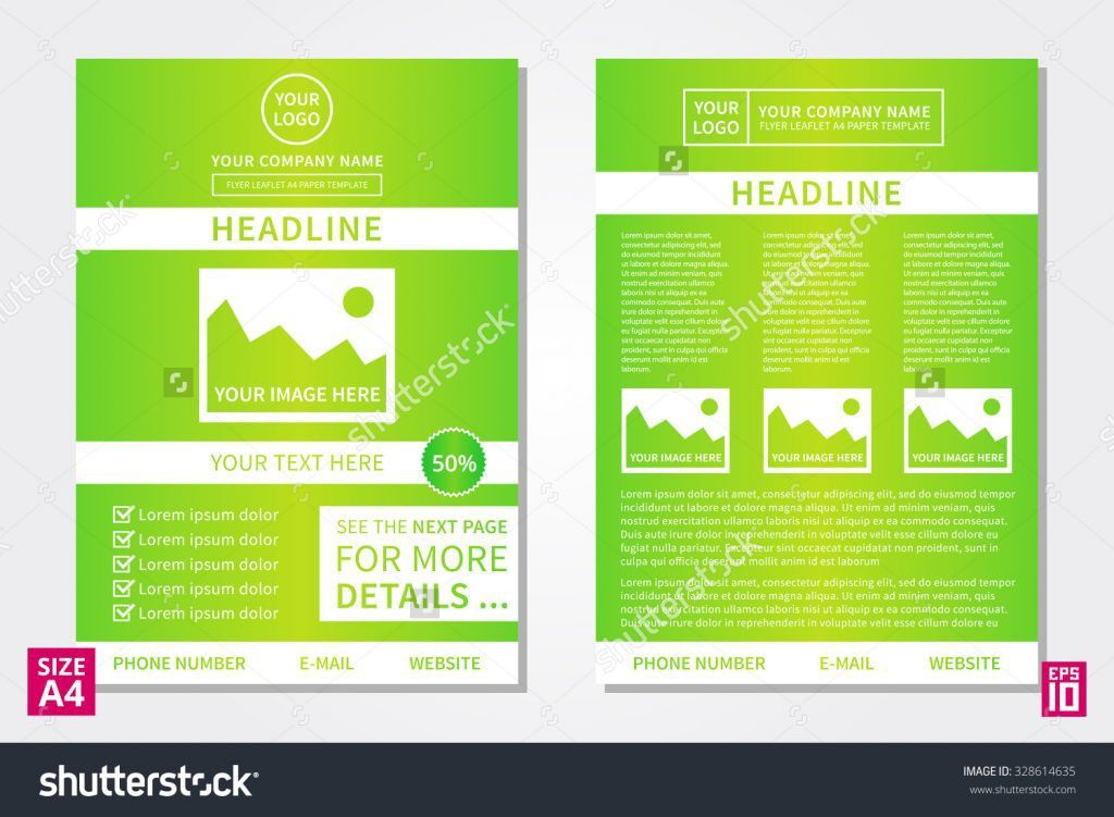 Sample Booklet Templates Minimalis Brochure Template Vector Flyer ...