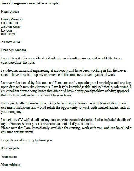 Charming Cover Letter For Chemical Engineer Fresh Graduate