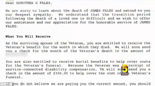 VA sends letter to army wife mistakenly declaring her veteran ...