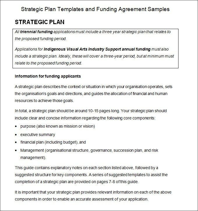 Strategic Planning Process Template - 4+ Free Word, PDF Documents ...