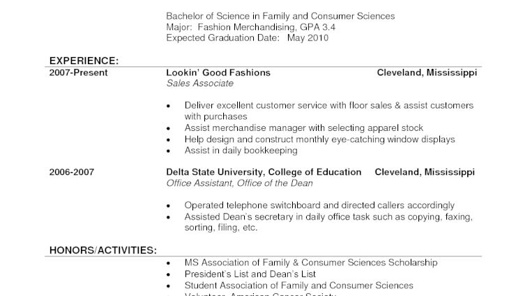 clothing store sales associate resume clothing retail sales resume ...