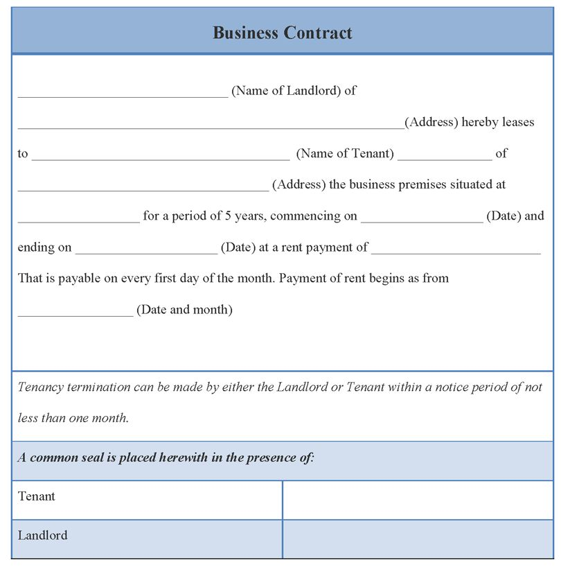 10 Best Images of Free Business Contract Agreement Templates ...