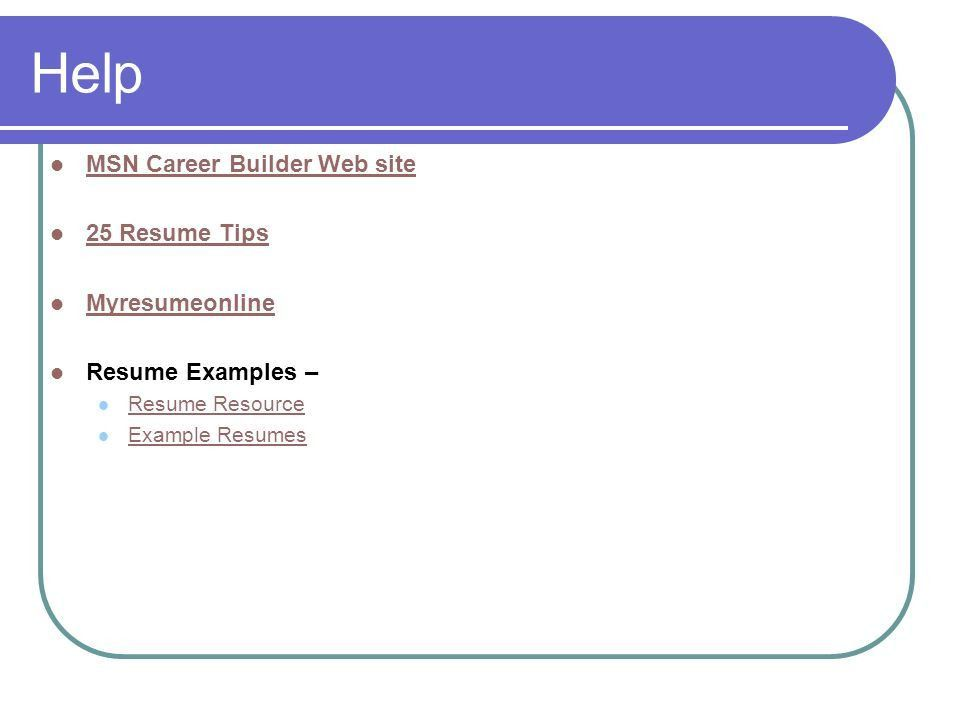 career. what to name your resume on monster careerbuilder examples ...