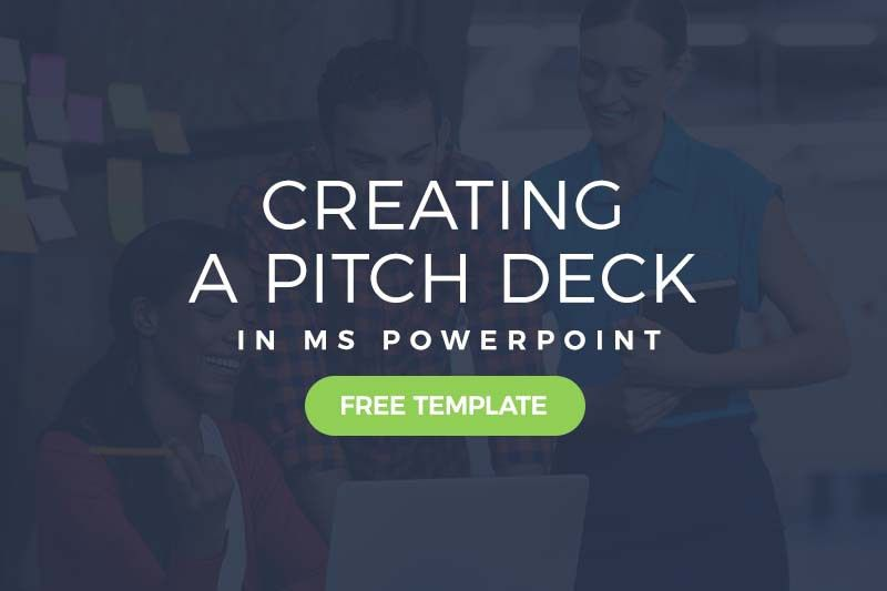 Creating a Pitch Deck in PowerPoint (Free Template Included)