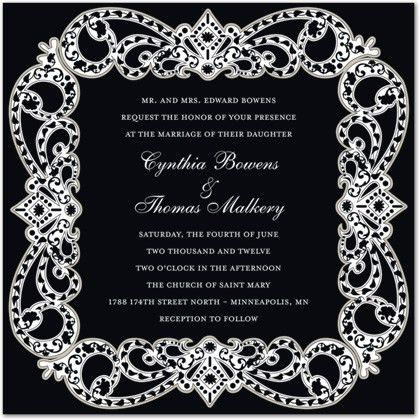 Formal Invitations, Business Invitations, Corporate Invitations