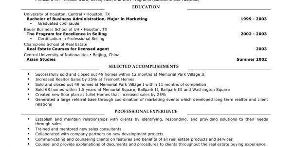 amazing real estate resume examples to get you hired livecareer ...