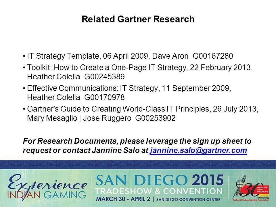 Gartner Template - Corpedo.com