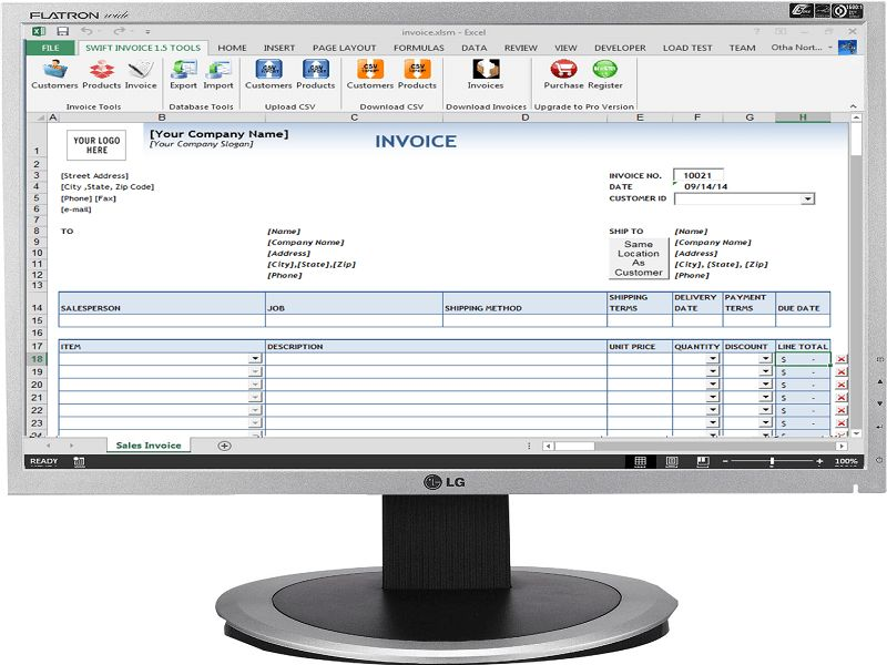 Freeware Download: Travel Agency Invoice Software
