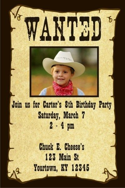 Wanted Invitation Western Invitations And Samples For A Wanted – Sample Wanted Poster