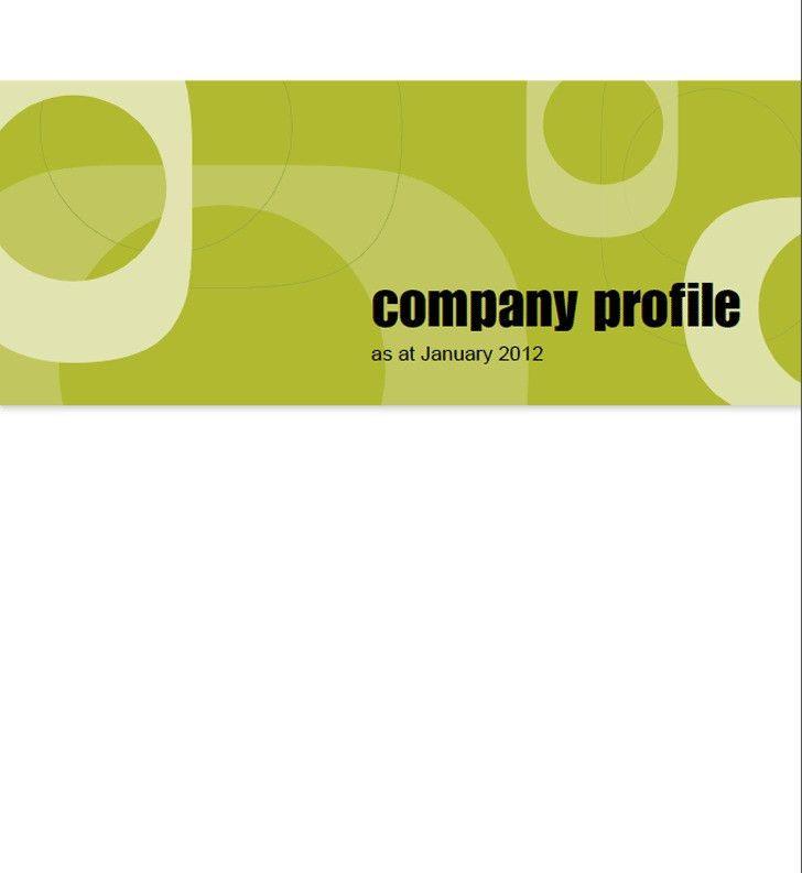Company Profile Sample | Download Free & Premium Templates, Forms ...