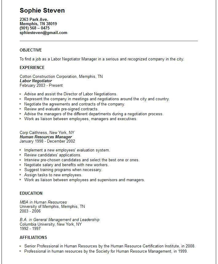 A Good Resume Objective – Okurgezer.co