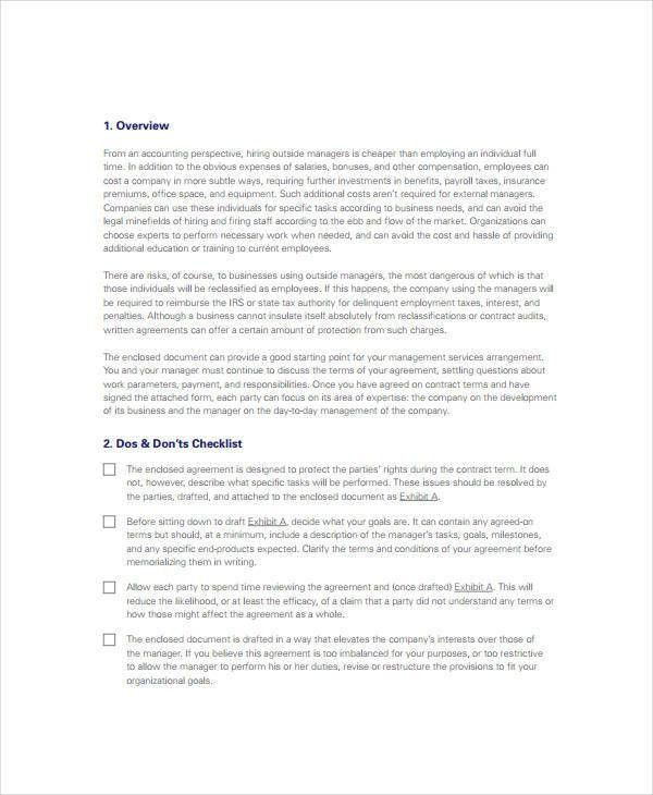 Service Agreement - 9+ Free PDF, Word Documents Download   Free ...