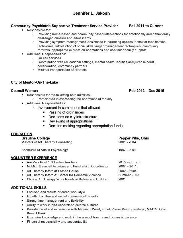 Jennifer revised resume 2016