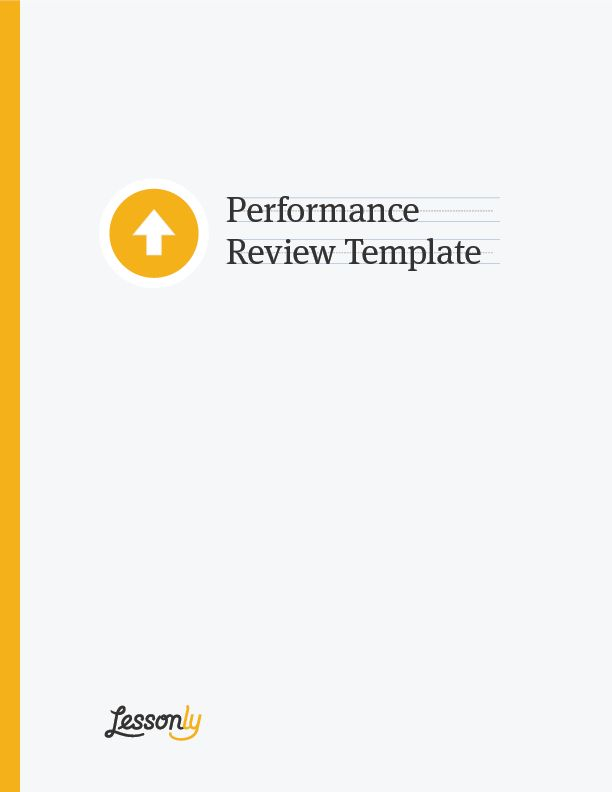 FREE Performance Review Template - Lessonly