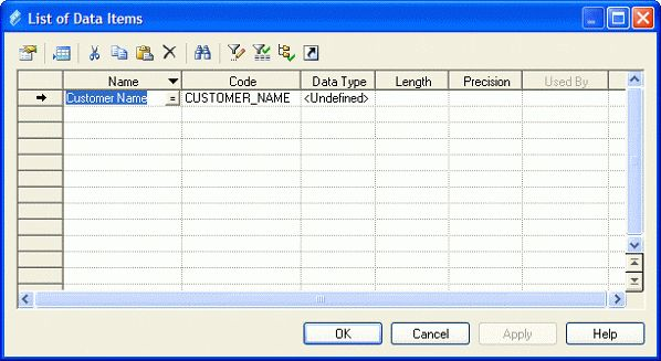 Example: Building a Data Dictionary in a CDM