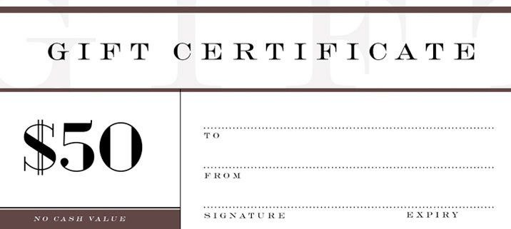 Free Online Gift Certificate Creator - Jukeboxprint.com