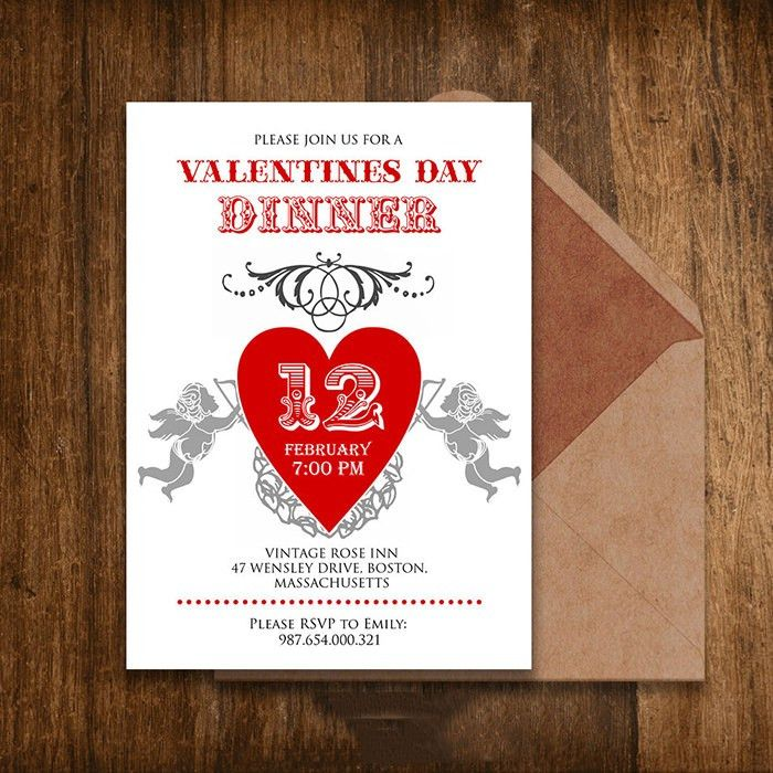 25+ Best Valentine Invitation Templates for 2015 | Free & Premium ...