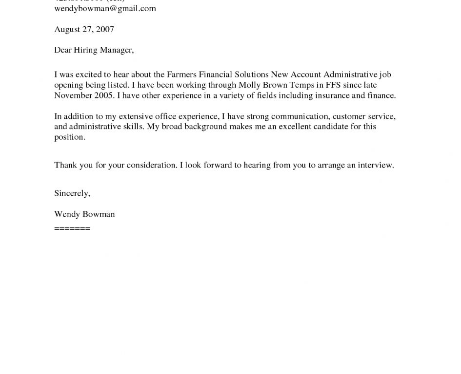Merry General Cover Letter Template 3 Resume Sample - CV Resume Ideas