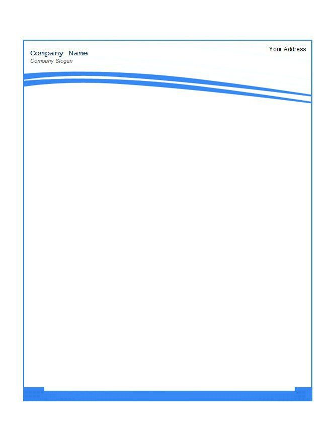 46 Free Letterhead Templates & Examples – Free Template Downloads