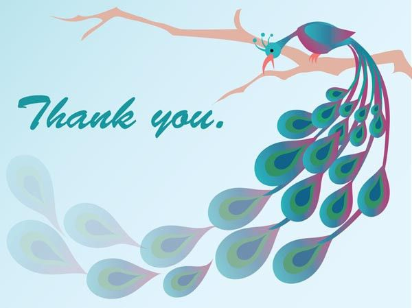 Thank You Card: Modern Images Of Thank You Card Template Avery ...
