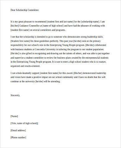 Recommendation Letter For Student. Math Teaching Mentor Sample ...