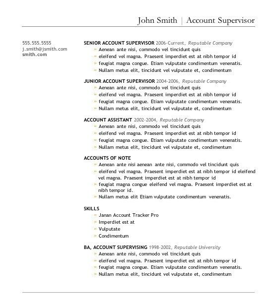 Resume Templates Download | whitneyport-daily.com