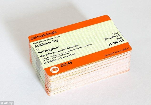 Rail tickets to be redesigned for the first time in more than 30 ...