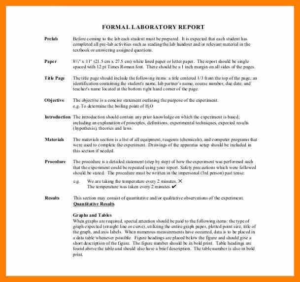 7+ formal lab report example | army memo format
