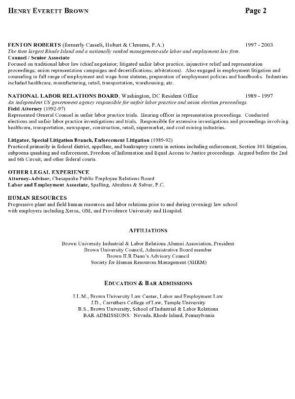 15 useful materials for law. how to write a curriculum vitae for ...