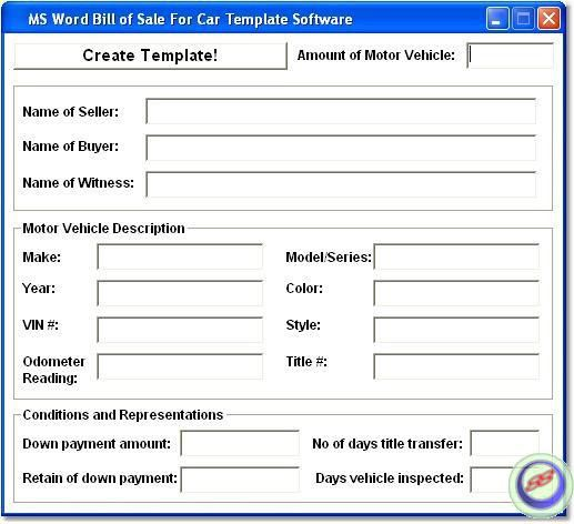 Download Vehicle Sales Receipt Template Free | rabitah.net