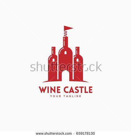 Wine Logo Template Stock Vector 566668330 - Shutterstock