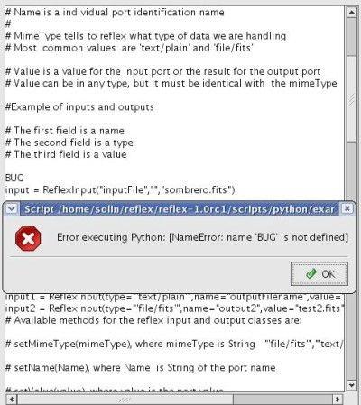 Sampo project - Reflex - Python examples