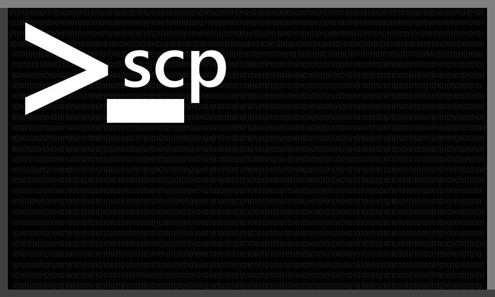 scp File Transfers   EiMF