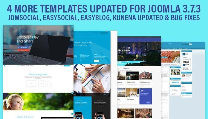 Weekend Updates: 4 more templates are updated for Joomla 3.7.3 ...