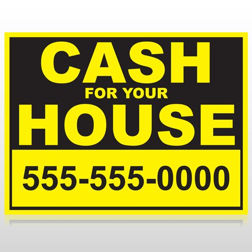 Real Estate Signs, Custom Real Estate Yard Signs, Open House Signs ...