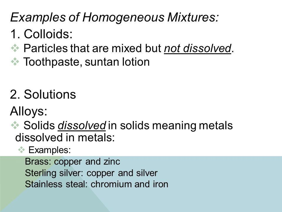 SWBAT: Define the classes of matter. - ppt video online download