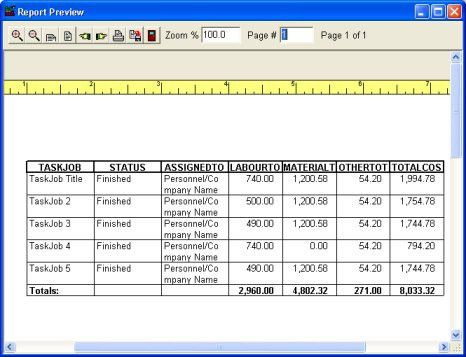 Task/Job Organizer Deluxe: simple task / job manager, database ...