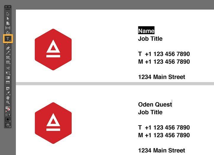 Business card design in InDesign   Adobe InDesign CC tutorials