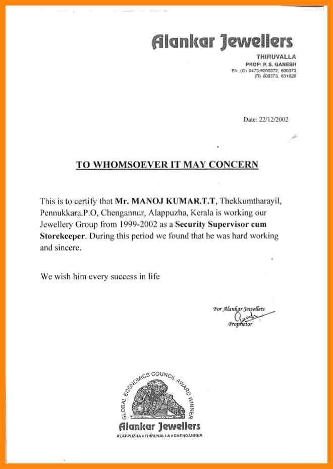 7+ working experience certificate | nurse resumed