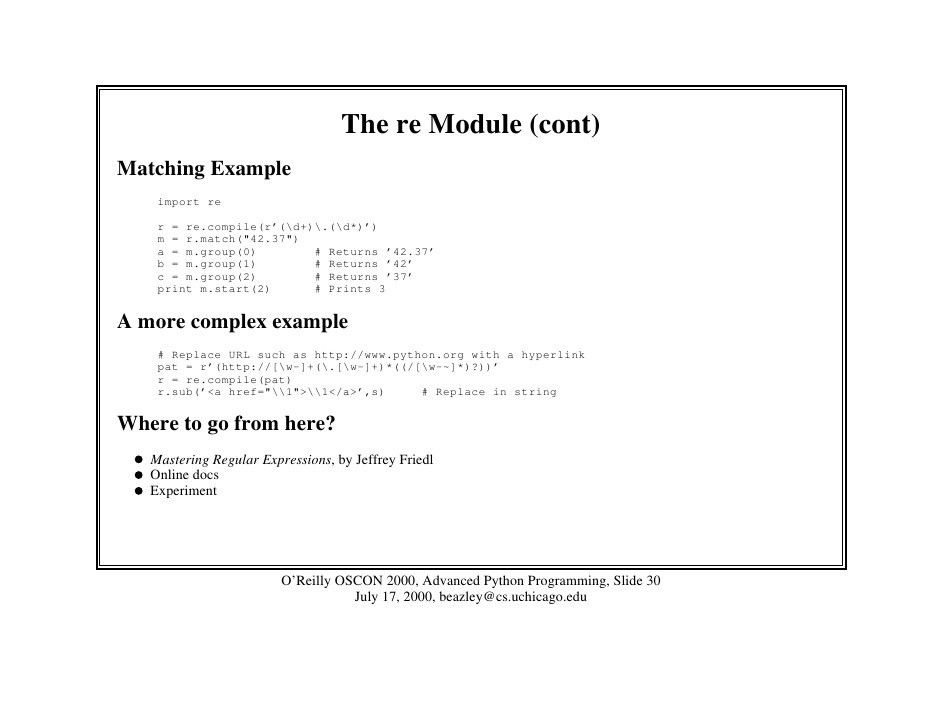 python example rest examples in python ned batchelder a