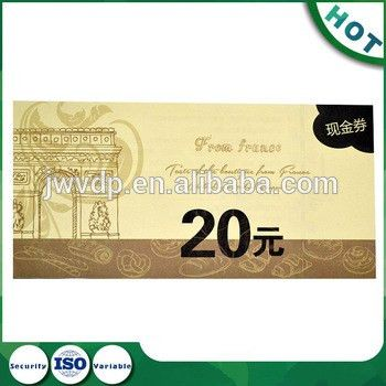 Custom Printing Paper Ticket Coupon Tickets Entrance Ticket No.373 ...