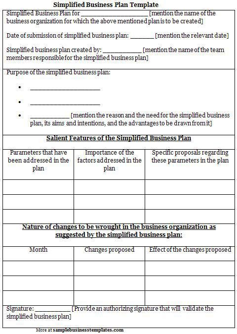 Best Business Plan Templates Free | Free Business Template