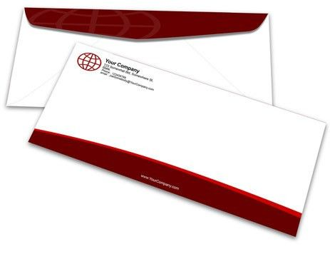 No. 10 Envelope Mockup | Cover Actions Premium | Mockup PSD Template