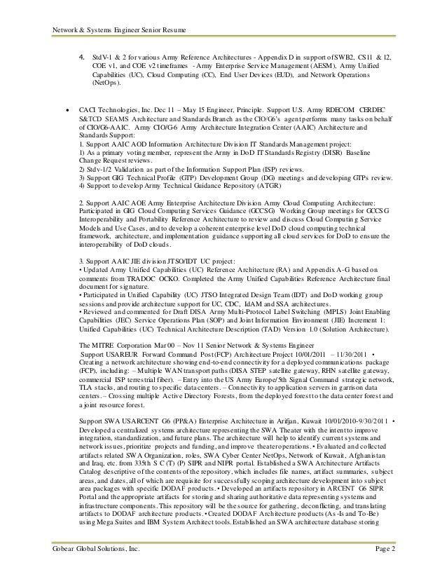 system engineering resume systems engineer free resume samples