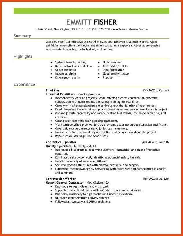 plumbing resume templatebillybullock plumbing resume sample